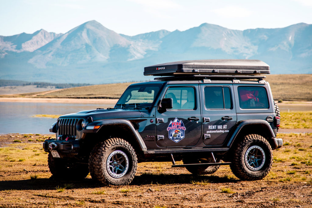 Peak Overland Jeep