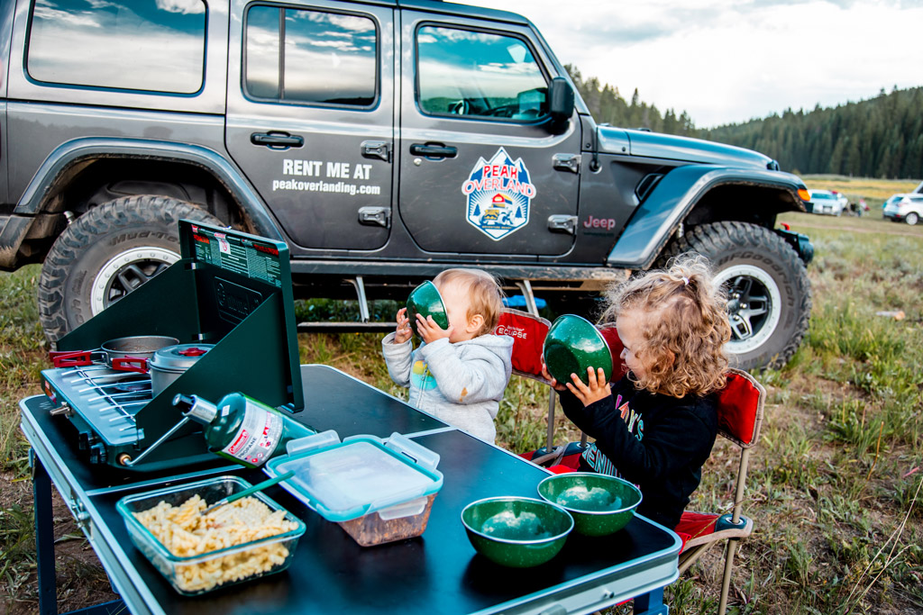 Jeep Camping with Kids
