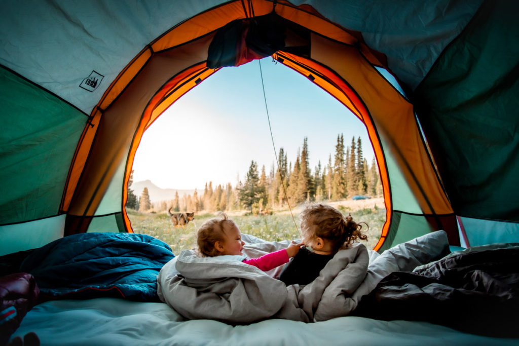 Tips and tricks for camping with toddlers