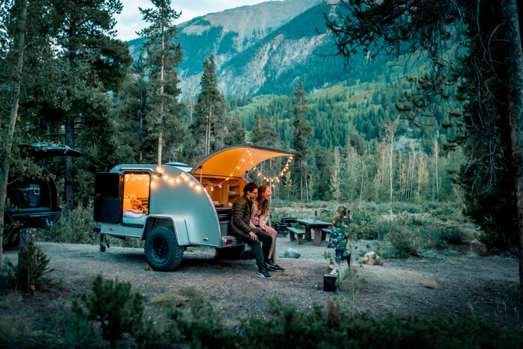 Evening at Twin Peaks Campground