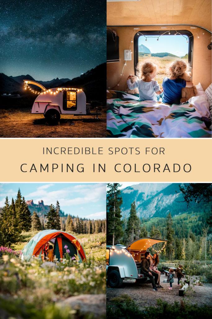 Family Camping in Colorado